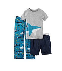 Carter's® Boys' 3-Piece Shark Pajama Set