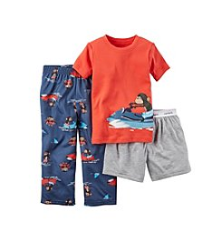 Carter's® Boys' 3-Piece Jet Ski Monkey Pajama Set