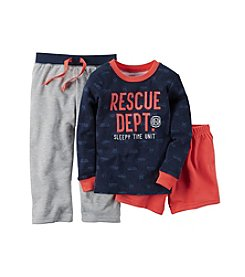 Carter's® Baby Boys 12M-12 Three-Piece Rescue Pajama Set
