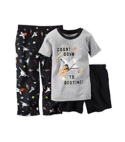 Carter's® Baby Boys 12M-12 Three-Piece Space Pajama Set