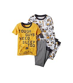 Carter's® Boys' 12M-12 Four-Piece Tough Guy Pajama Set