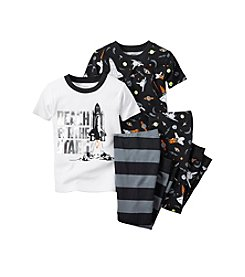 Carter's® Boys' 8-12 4-Piece Reach For The Stars Pajama Set