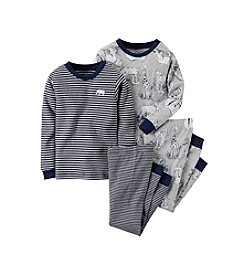 Carter's® Baby Boys' 12M-12 Four-Piece Safari Pajama Set