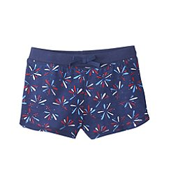 Mix & Match Girls' 4-6X Fireworks Printed Shorts