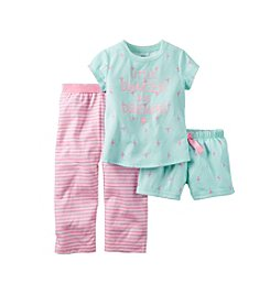 Carter's® Girls' 3-Piece Little Dancer Pajama Set