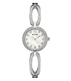 Bulova® Women's Swarvovski® Crystal Watch