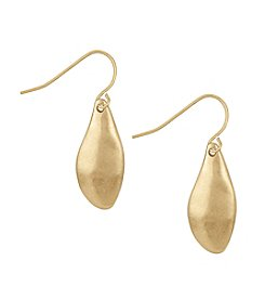 The Sak® Goldtone Small Petal Drop Earrings