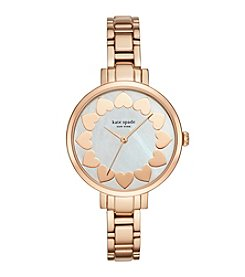 kate spade new york® Women's Rose Goldtone Gramercy Heart Watch
