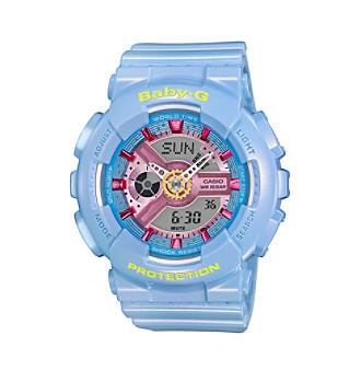 Baby-G Women's Pastel Blue Bracelet Watch