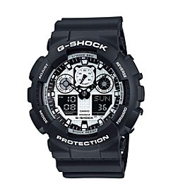 G-Shock® Men's Ana-Digi Black and White Watch