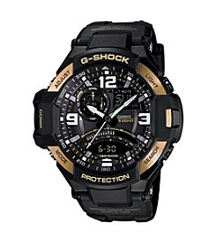 G-Shock® Men's Black Gold Gravity Watch