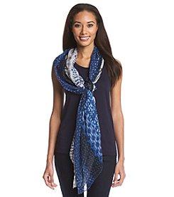 Collection 18 Tie Dye Shibori Scarf