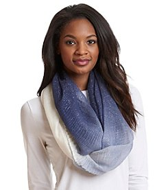 Cejon® Ombre Ruched Infinity Scarf