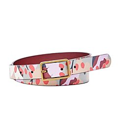 Fossil® Printed Jeans Belt