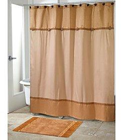 Avanti® Braided Medallion Shower Curtain or Bath Rug
