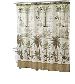 Avanti® Colony Palm Shower Curtain or Bath Rug