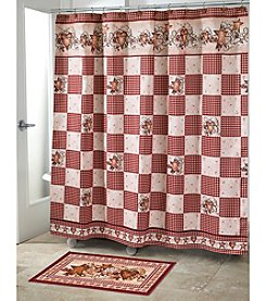 Avanti® Hearts and Stars Shower Curtain or Bath Rug