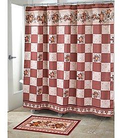 Avanti® Hearts and Stars Shower Curtain or Bath Rug