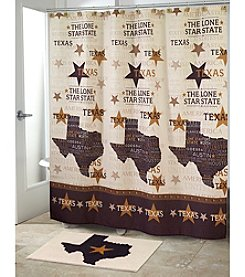 Avanti® Lone Star Shower Curtain or Bath Rug