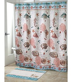 Avanti® Seaside Vintage Shower Curtain or Bath Rug