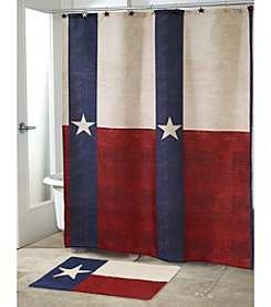 Avanti® Texas Star Shower Curtain or Bath Rug