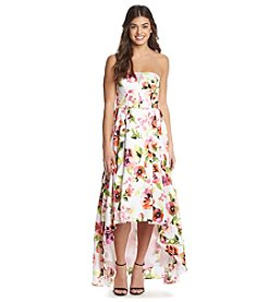 My Michelle® Floral High-Low Ballgown