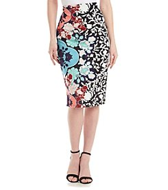 Sequin Hearts® Floral Skirt