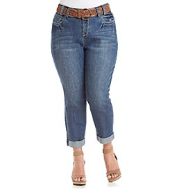 Wallflower® Plus Size Cropped Jeans