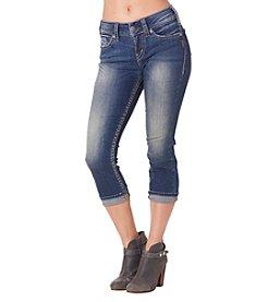Silver Jeans Co. Suki Mid Rise Capri