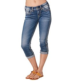 Silver Jeans Co. Suki Mid Rise Capris