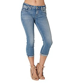 Silver Jeans Co. Suki High Rise Capris