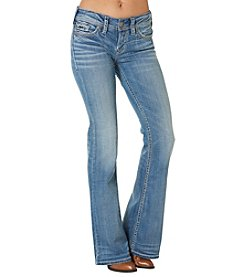 Silver Jeans Co. Suki Mid Rise Flared Jeans