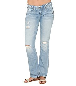 Silver Jeans Co. Aiko Mid Rise Bootcut Jeans