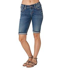 Silver Jeans Co. Suki Mid Rise Bermuda Shorts