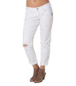 Silver Jeans Co. Boyfriend Destructed Jeans