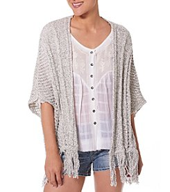 Silver Jeans Co. Fringe Cardigan