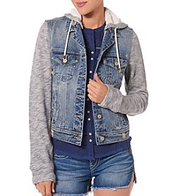 Silver Jeans Co. Knit Denim Jacket