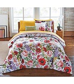 LivingQuarters Loft Botanical Floral 5-pc. Comforter Set
