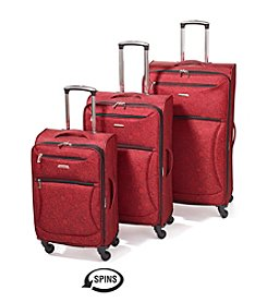 Leisure Vector Red Floral Luggage Collection
