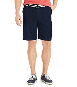 Izod® Men's Flat Front Shorts