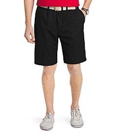 Izod® Men's Microfiber Flat Front Shorts