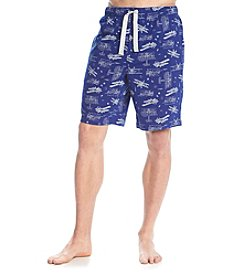 John Bartlett Statements Men's Printed Knit Pajama Shorts