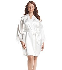 Linea Donatella® Plus Size Mona Wrap Robe