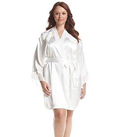 Linea Donatella® Plus Size Mona Wrap Robe