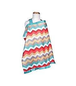 Trend Lab Waverly® Pom Pom Play Chevron Nursing Cover