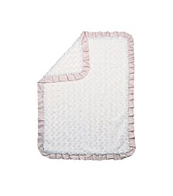 Trend Lab Waverly® Rosewater Glam Ruffled Rosette Baby Blanket