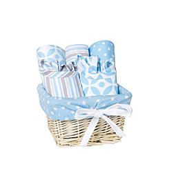 Trend Lab Logan 7-pc. Feeding Basket Gift Set