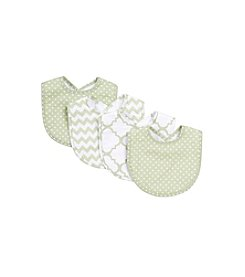 Trend Lab Sea Foam 4-pk. Bib Set