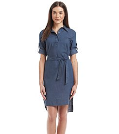 Madison Leigh® High Low Shirtdress
