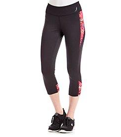 Exertek® Printed Pieced Crop Pants